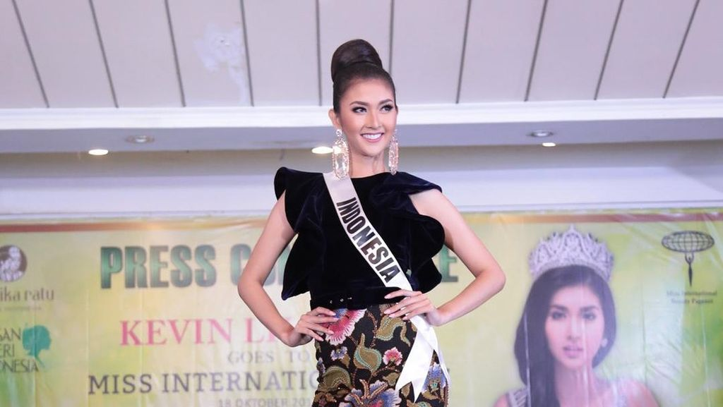 Miss International 2017 Kevin Liliana Siap Harumkan Bangsa