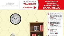 Promo Meja Komputer dan Kursi Kantor di Transmart Carrefour