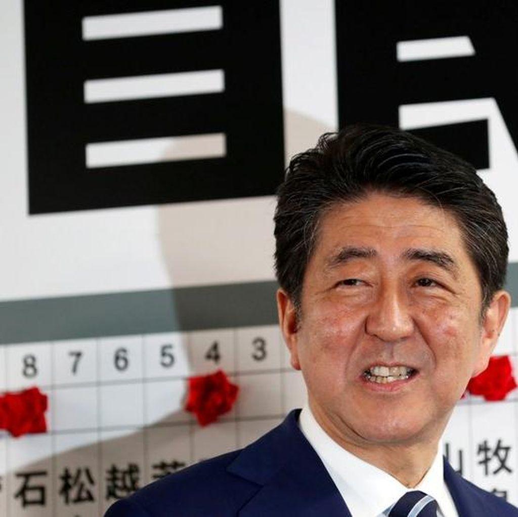 PM Jepang Shinzo Abe Berjanji Akan Hadapi Korut Secara Tegas