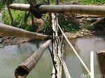 Miris! Jembatan Rusak di Serang Ini Masih Digunakan Warga