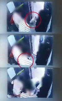 Saat anjing milik Choi Siwon gigit CEO restoran di lift.