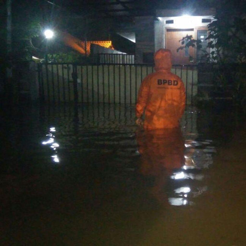 Banjir di Tangsel Sudah Surut, Masih Menyisakan Genangan