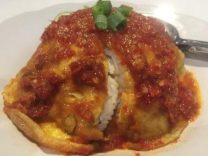 Resep Nasi : Nasi Telur Rica