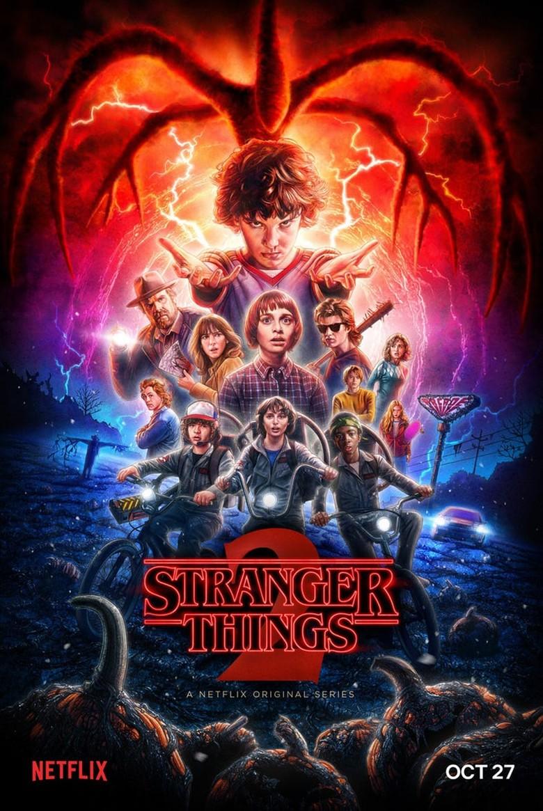 Stanger Things Musim Kedua Rilis Poster Anyar