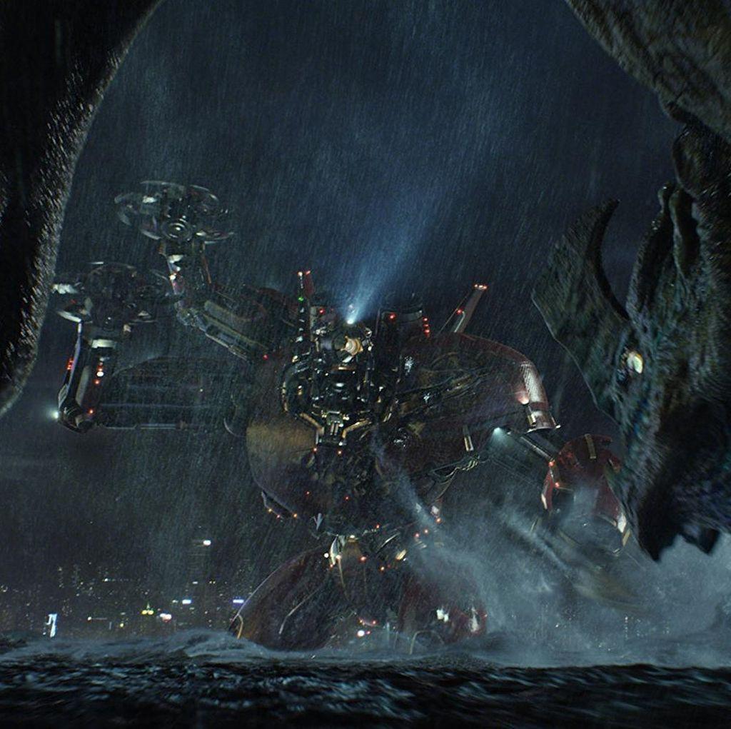 Kemungkinan Jaeger dan Godzilla Bertemu di Film