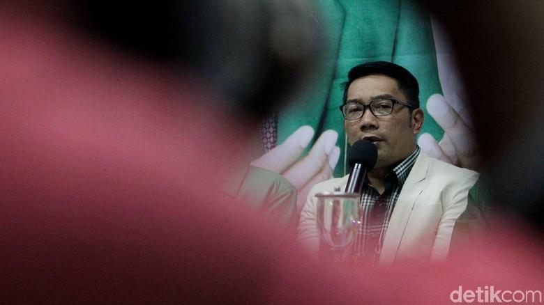 PPP Tetap Ingin Ridwan Kamil Diduetkan dengan Uu Ruzhanul