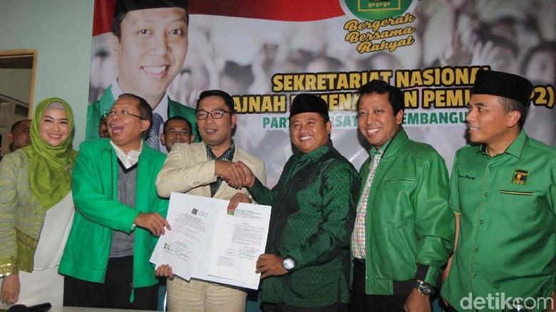 Golkar Cabut Dukungan ke Ridwan Kamil, PPP Jabar Pikir Ulang