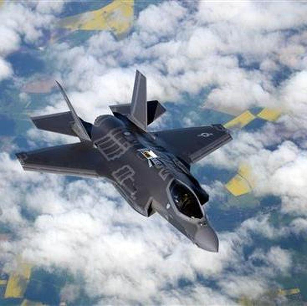 AS Akan Kerahkan Jet Tempur Tercanggih F-35A ke Jepang