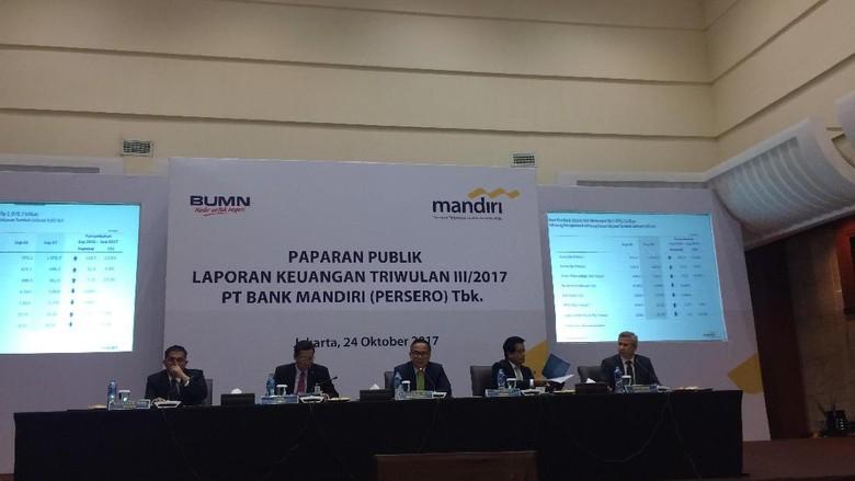 Bank Mandiri Raup Laba Rp 15,1 Triliun, Naik 25%