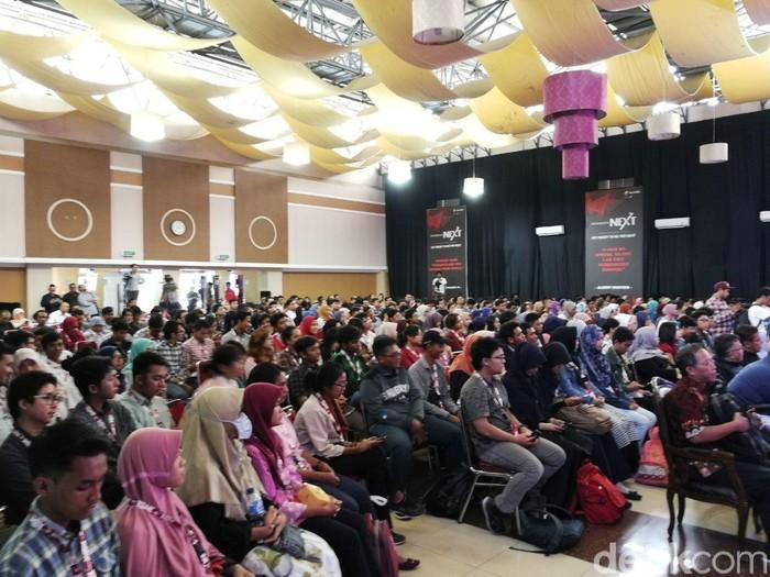 Suasana acara. Foto: detikINET/Muhammad Alif Goenawan