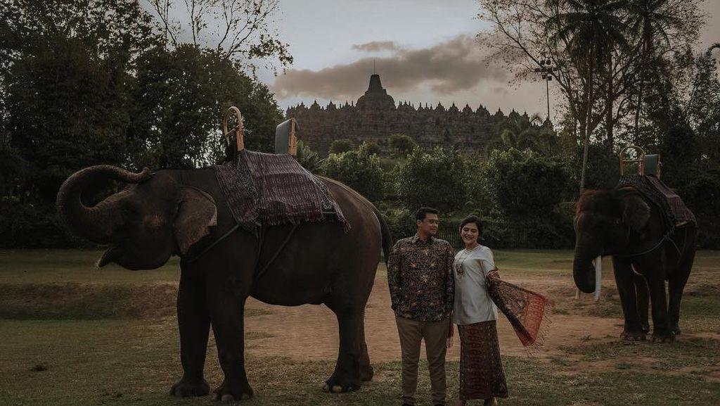 Inilah Foto Prewedding Tema Nusantara Ala Kahiyang Ayu dan Bobby