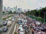 Begini Situasi Terkini Demo Tolak Perppu Ormas di Depan DPR