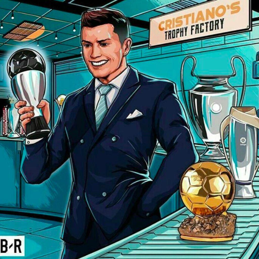 Kembali Taklukkan Messi, Ronaldo Dipuja Netizen