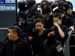 Siti Aisyah Jalani Rekonstruksi dengan Pengawalan Ketat Polisi