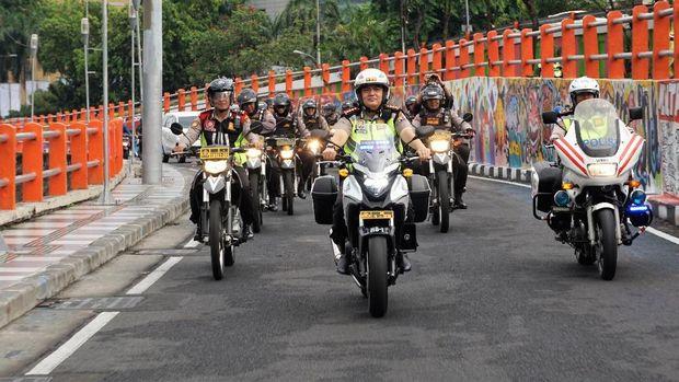 Patroli dimulai sejak pukul 05.00 WIB