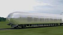 Sebentar Lagi, Jepang Punya Kereta Transparan