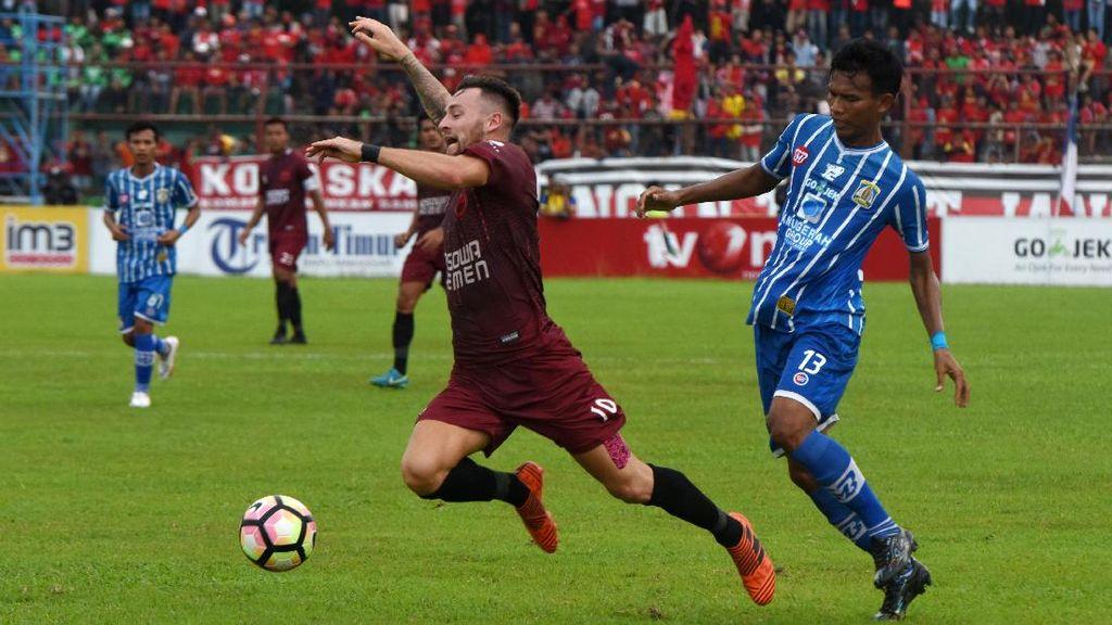 Kalahkan Persiba Balikpapan, PSM Puncaki Klasemen Liga 1