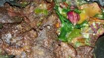 Resep Daging : Dendeng Lado Mudo