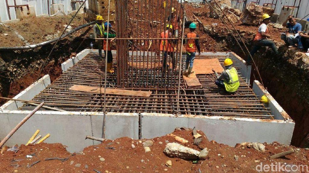 Proyek LRT Jabodebek Sudah Sampai Kuningan, Begini Progresnya