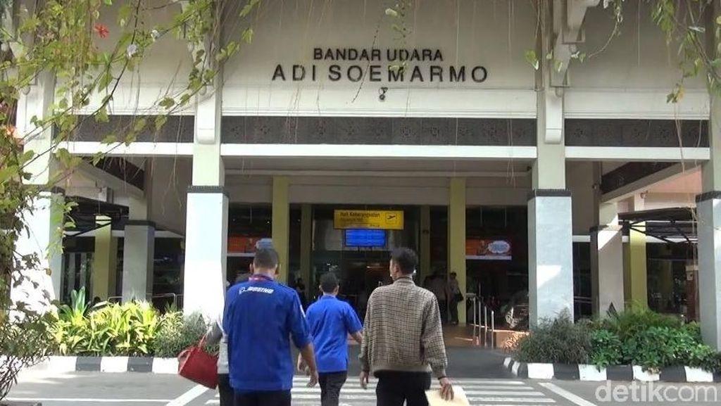 Jokowi Mantu, AP I Atur Parkir Pesawat di Bandara Adi Soemarmo