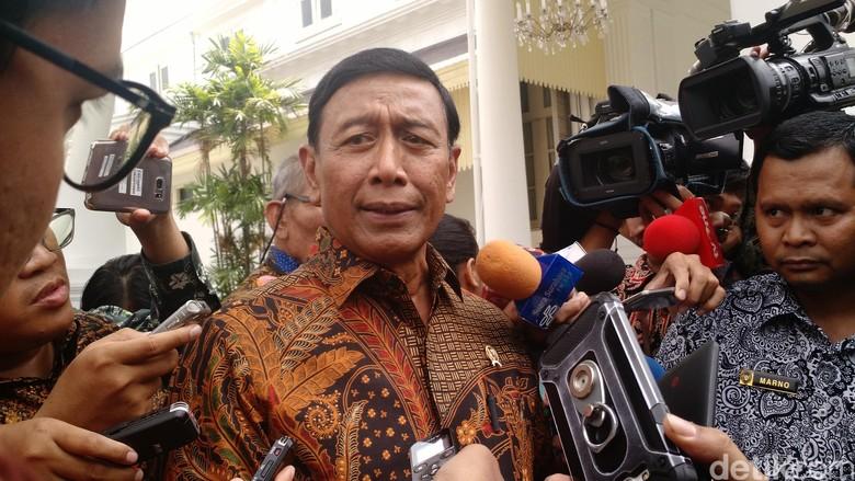 Cerita Wiranto Salah Masuk Mobil Saat Ditanya soal Perppu Ormas