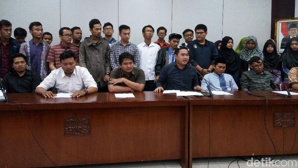 BEM UNS Tuntut Polisi Cabut Status Tersangka Demo di Depan Istana