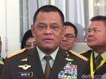 Ekspresi Kekecewaan Panglima TNI atas Penolakan Dirinya Masuk AS