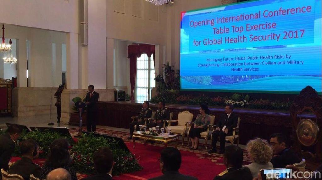 Buka Konferensi Kesehatan Dunia, Jokowi Bicara Penyebaran Penyakit