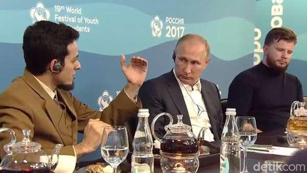 Ngobrol Bareng Putin, Ini yang Dibahas Dokter Asal Malang