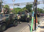 Ini Alasan Polantas Setop dan Bantu Konvoi TNI di Sampang
