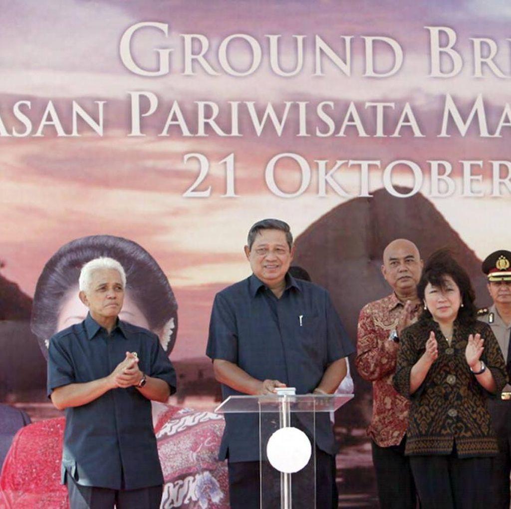 SBY Unggah Foto Saat Meresmikan Mandalika Tahun 2011
