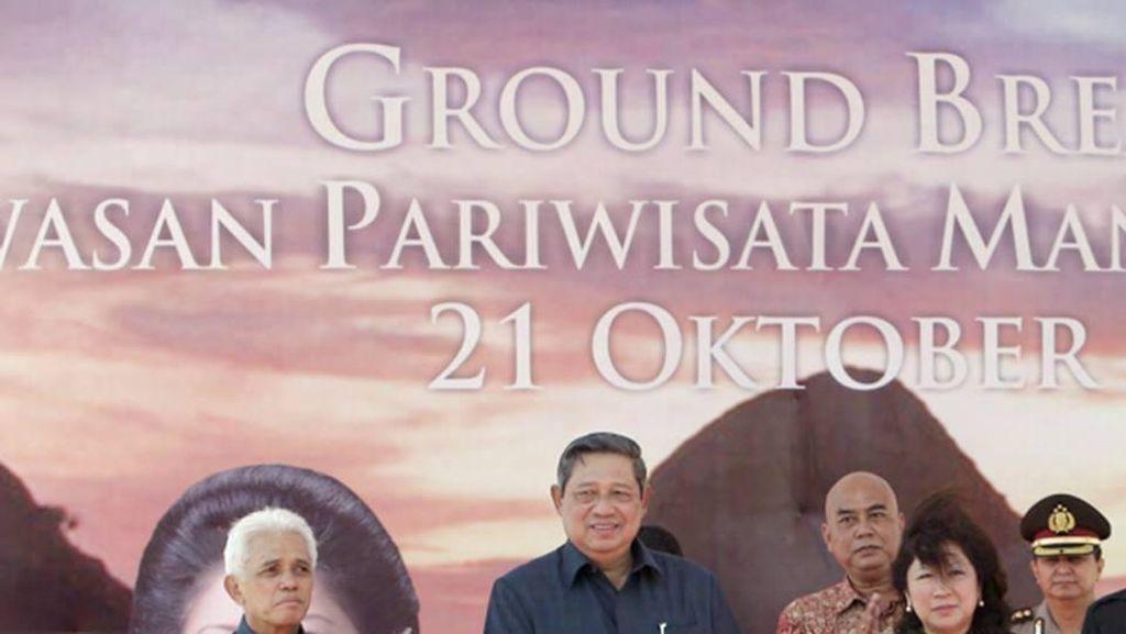 SBY Unggah Foto Saat Meresmikan Mandalika pada 2011