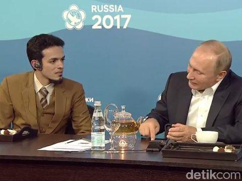 dr Gamal dan Presiden Putin/