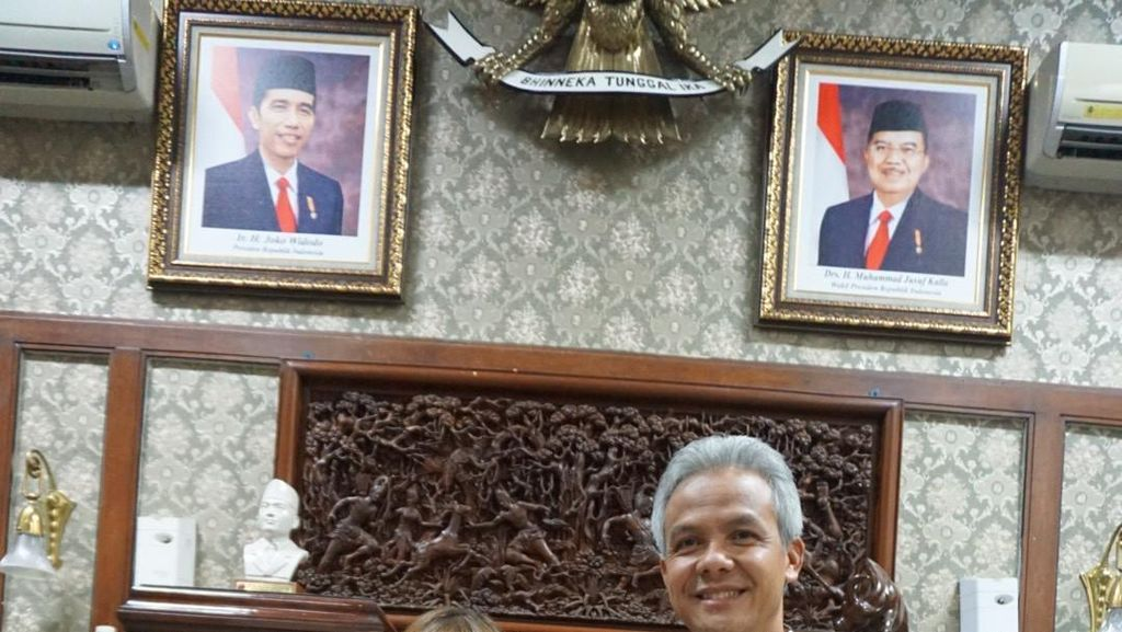 Tsamara Amany Temui Ganjar Pranowo Semalam, Dukung Pilgub?