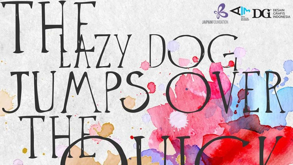36 Seniman Muda Ikuti Pameran Seni Kontemporer Tipografi ke-2