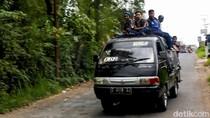 Pelajar Naik Atap Mobil, Bupati Garut: Tradisi Buruk