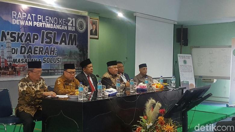 MUI Gelar Rapat Pleno Bahas - Jakarta Majelis ulama Indonesia mengadakan rapat pleno membahas tentang Islam di Salah satu yang menjadi perhatian MUI adalah