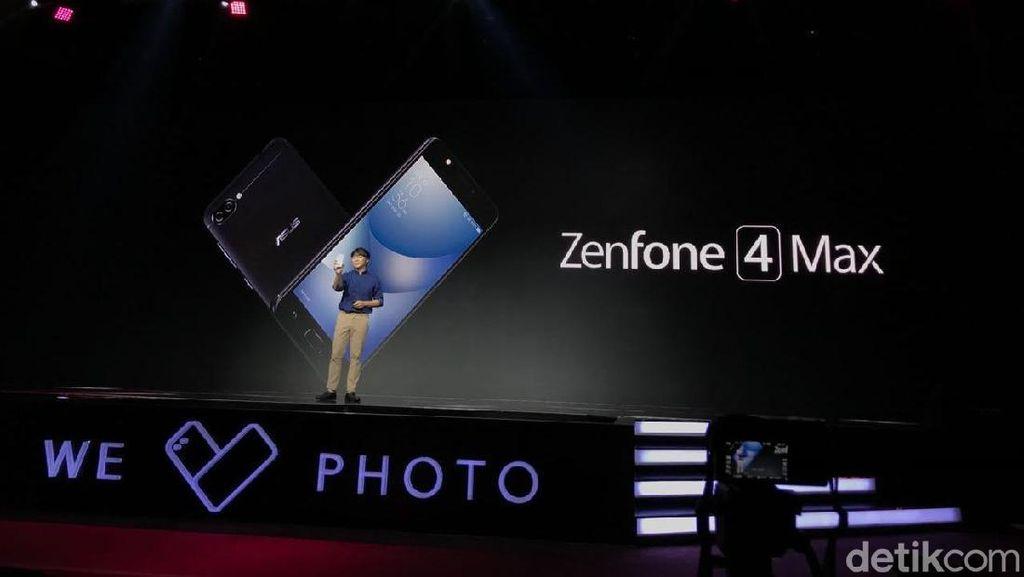 Zenfone 4 Max, Ponsel Kamera Ganda Termurah Asus
