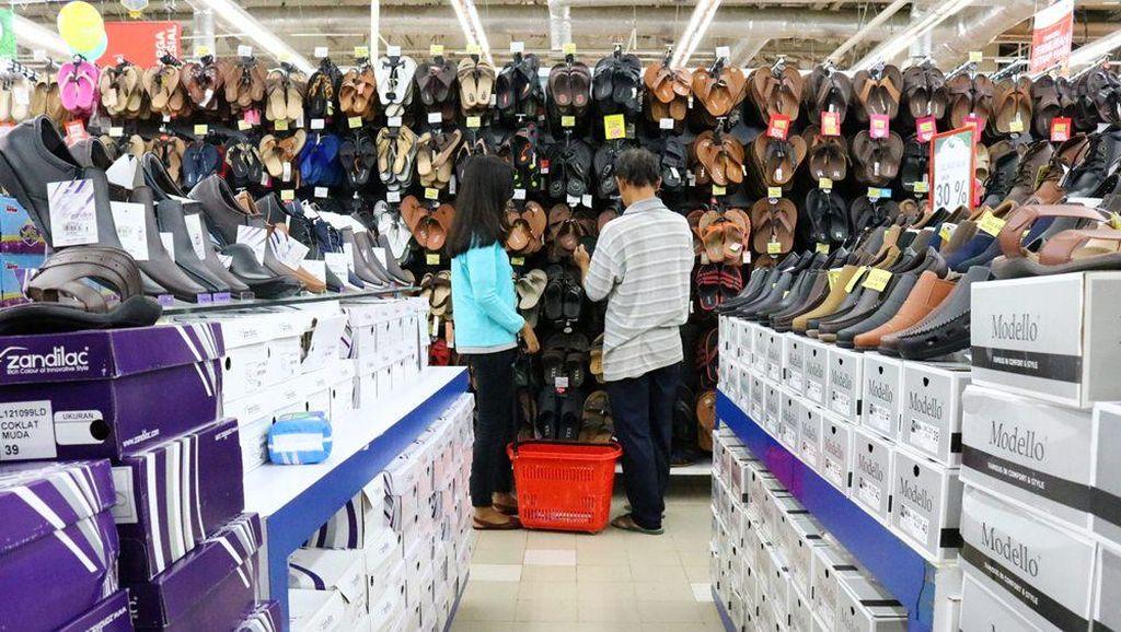 Sandal dan Sepatu Diskon Sampai 50% di Transmart Carrefour