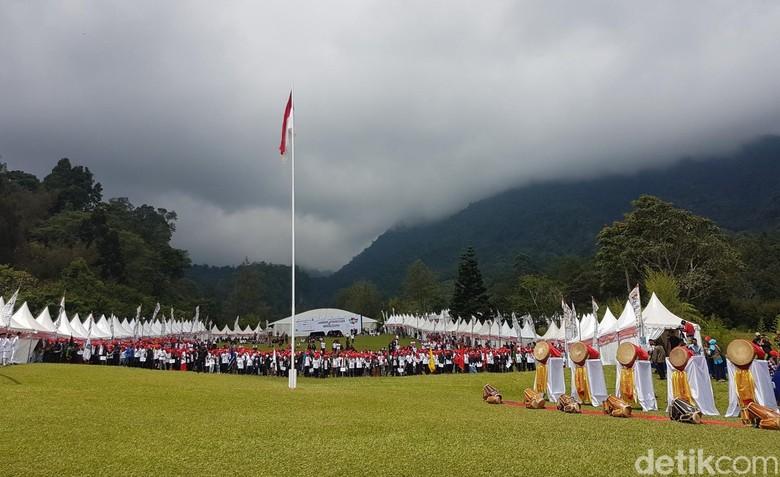 Peserta Kecewa Jokowi Tak Datang di Jambore Kebangsaan dan Wirausaha