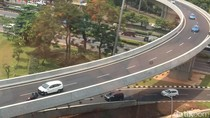 Polisi: Pemotor Jangan Naik Simpang Susun Semanggi, Bahaya!
