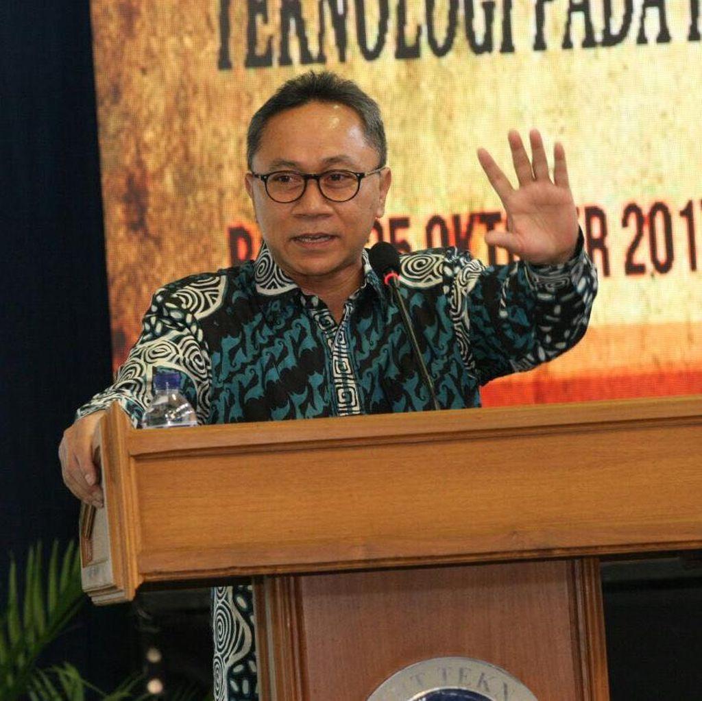 Ketua MPR: Akan Baik Kalau Novanto Mundur dari Ketua DPR