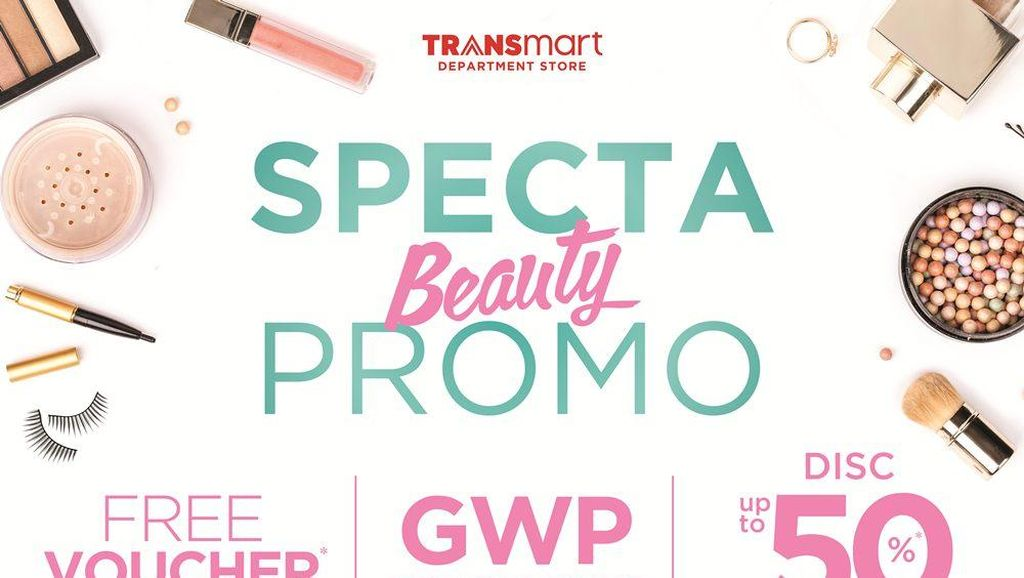 Belanja Kosmetik dan Parfum Gratis Voucher di Spekta Transmart
