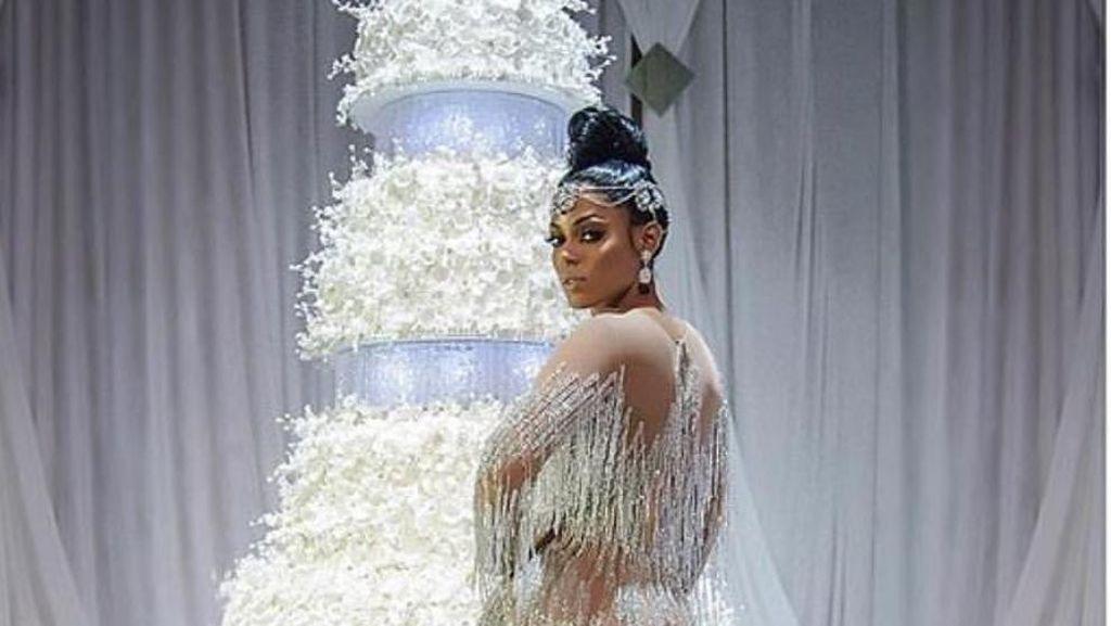 Seperti Ini Bentuk Cake Pengantin Gucci Manne Seharga Rp 1 Milliar