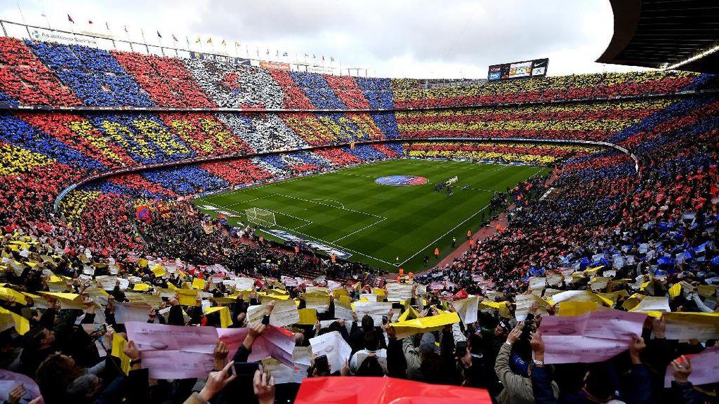 Barca Pertimbangkan Jual Nama Camp Nou
