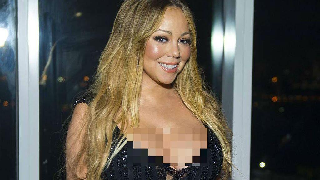 Mariah Carey Masih Pakai Cincin Berlian Rp 135 M dari Mantan Tunangan