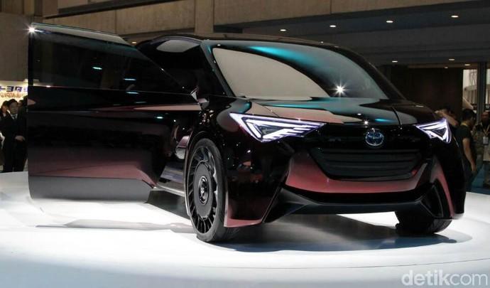 Keren! Ini Mobil Keluarga Masa Depan Toyota