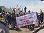 Minta Ojek Online Dihapus, Opang Geruduk Pendopo Gubernur Banten