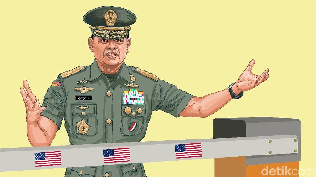 Mengapa Jenderal Gatot Ditolak Amerika?