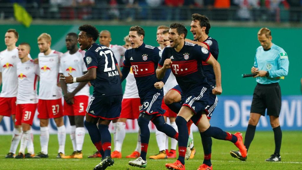Bayern Lolos Usai Atasi Leipzig Lewat Adu Penalti